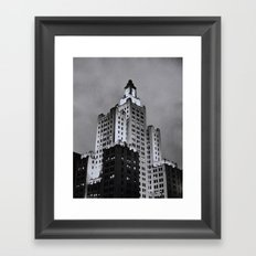 Dusk in Providence Framed Art Print