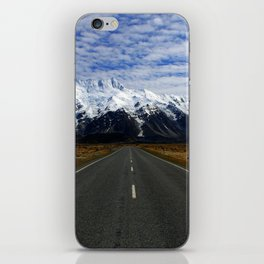 Road to Mount Cook iPhone Skin