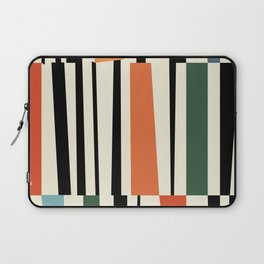 MCC Oddities II - Mid Century Modern Geometric Abstract - Blue Orange Yellow Red Laptop Sleeve