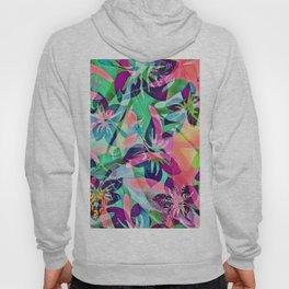 Trendy Floral Mix 818B Hoody