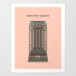 Parkview Square, Singapore [Building Singapore] Art Print