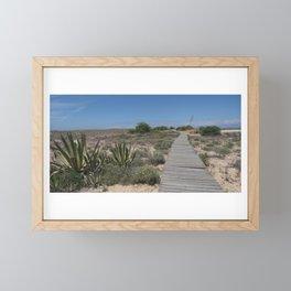 Ilha Deserta Framed Mini Art Print