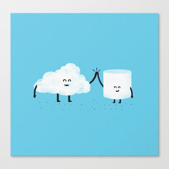 Puffy Pals Canvas Print