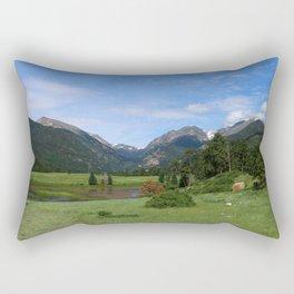 A Meadow In Rocky Mountain NP Rectangular Pillow