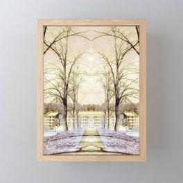 Entrance Framed Mini Art Print