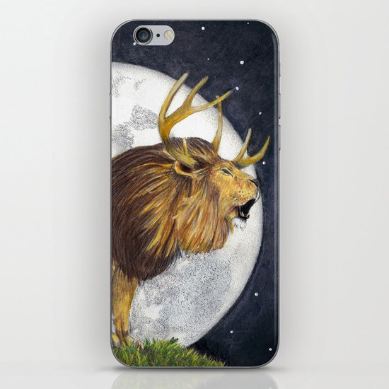 Lion Hart iPhone & iPod Skin