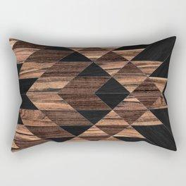 Urban Tribal Pattern No.11 - Aztec - Wood Rechteckiges Kissen