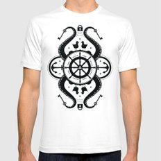 Secrets of the Sea Mens Fitted Tee SMALL White
