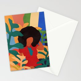 Get lost in nature and you will find yourself  #art print #abstract art Stationery Cards