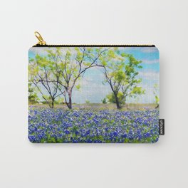 Bluebonnet Texas Carry-All Pouch