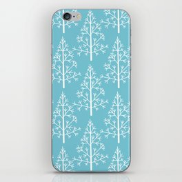 Christmas fir trees iPhone Skin
