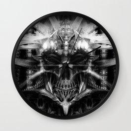 Xray Skull Wall Clock