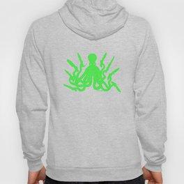 Octopus 8 Knives (toxic green) Hoody