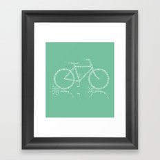 Treebike Framed Art Print