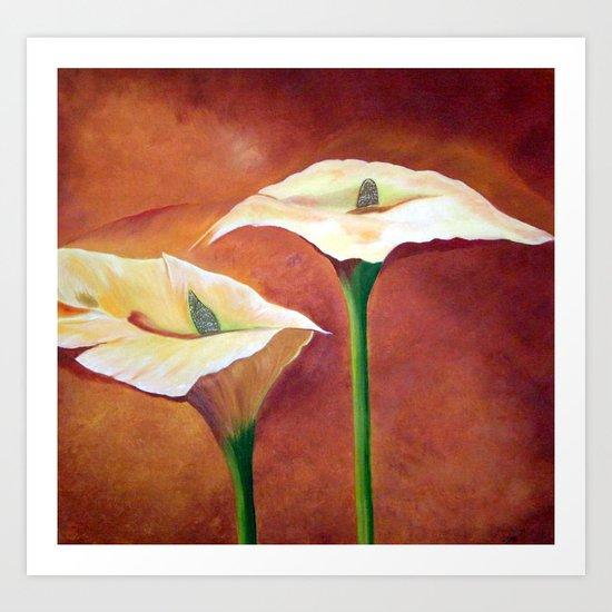 Flower - Callas Art Print