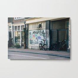 Streets of Amsterdam Metal Print