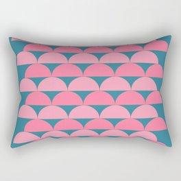 Cute Vibrant Shape Art Rectangular Pillow