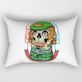 skull boy Rectangular Pillow