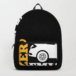Electric Car Driver Gift Backpack
