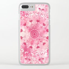 """""""The Suitor's Plea"""" Kaleidoscope 5 by Angelique G. @FromtheBreathofDaydreams Clear iPhone Case"""