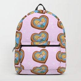 "Fan art ""Hey, Arnold"". valentine,Heart shaped photo Backpack"