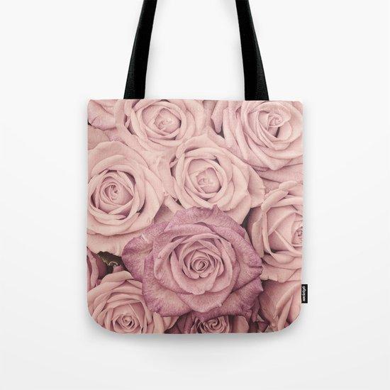 Some people grumble - Pink rose pattern- roses Tote Bag
