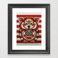 Red Panda by Giulio Rossi Framed Art Print