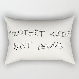 PROTECT KIDS NOT GUNS Rectangular Pillow
