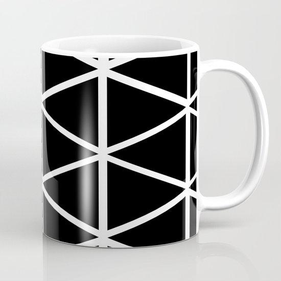 BLACK & WHITE TRIANGLES 2 Mug