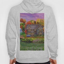 Autumn Home Landscape Hoody