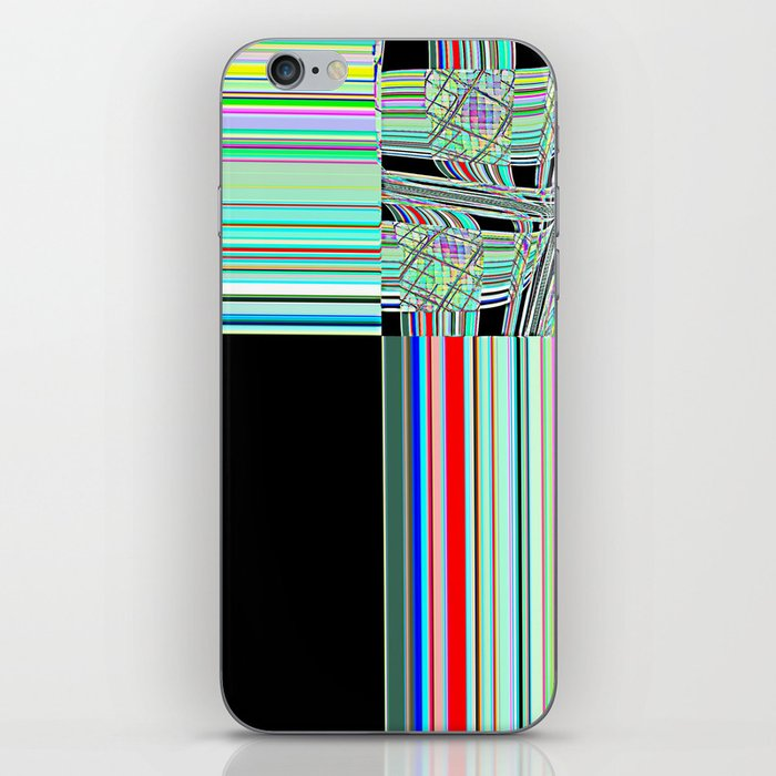 Re-Created Southern Cross XXXII by Robert S. Lee iPhone Skin