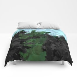 The rocky cliffs Comforters