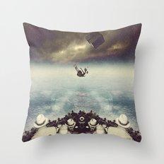 Distance Between Dreams Throw Pillow