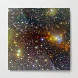Constellation Serpens Cloud Spawns Stars Space Galaxy Metal Print