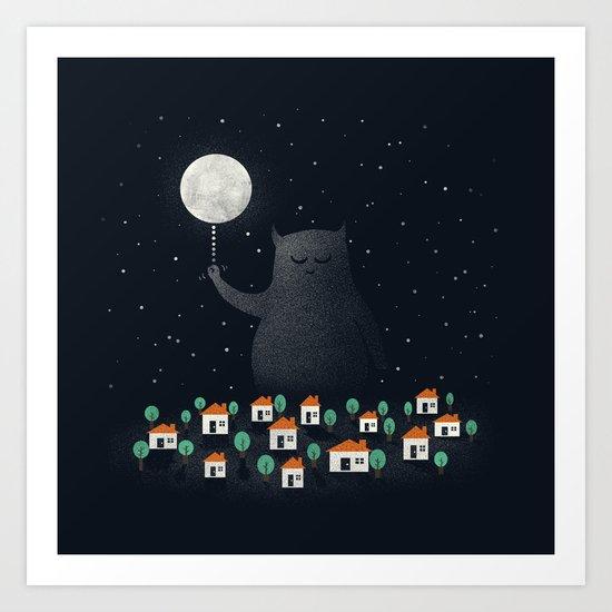 Good Night, Sleep Tight Art Print