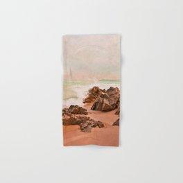 evening waves Hand & Bath Towel