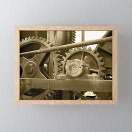 Heavy machinery Framed Mini Art Print