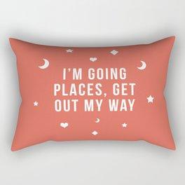 Out My Way Rectangular Pillow