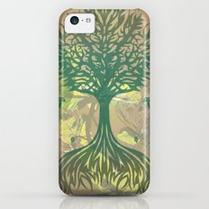 Color My World Green iPhone 5c Slim Case