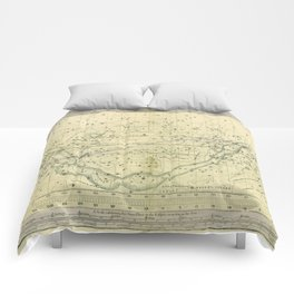 A Celestial Planisphere or Map of The Heavens Comforters