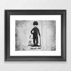 Charlie Cat Framed Art Print