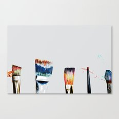 Brushes Canvas Print