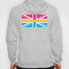 Pansexual UK Flag design LGBTQ Pride Gift Idea Hoody