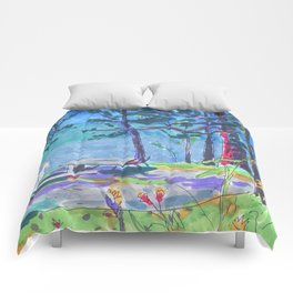 summer camp Comforters