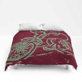 The pro cycling champ Comforters