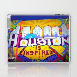 Houston is Inspired Laptop & iPad Skin