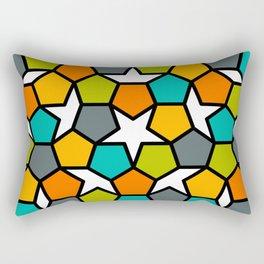 Stella Geode Closeup Rectangular Pillow