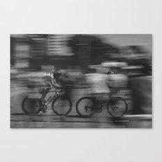 cycling race Canvas Print