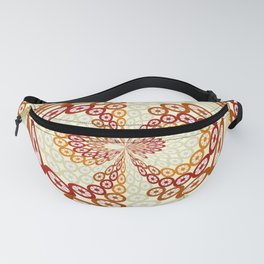 Brown and tan pattern Fanny Pack