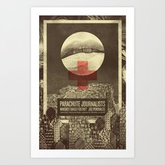 Parachute Journalists - Temptation Art Print